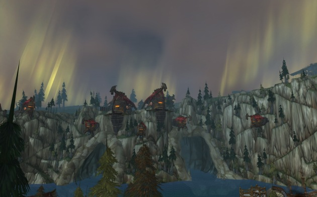 Howling Fjord.  This might replace my current desktop picture.